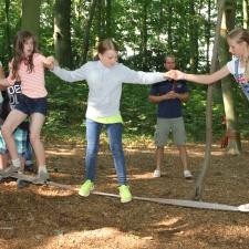 Erlebnispädagogik Klassenfahrt Niedrigseilgarten