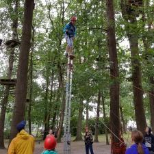 Erlebnispädagogik Klettern Hochseilgarten