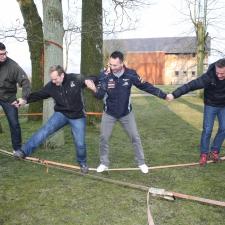 Teambuilding Niedrigseilgarten