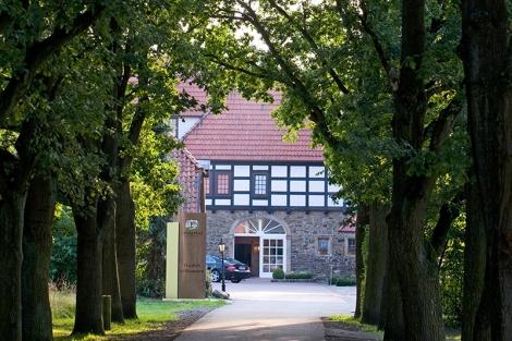 Hotel Idingshof, Einfahrt